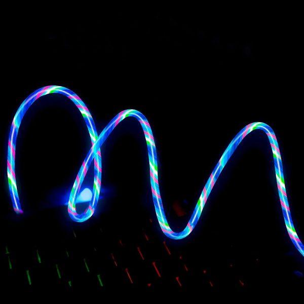 Светящийся магнитный USB кабель TOPK AM67