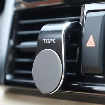 Автомобильный магнитный держатель телефона TOPK D11 с креплением на вентиляционную решетку