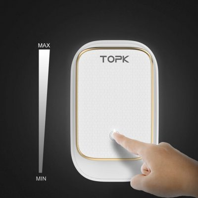 Сетевое зарядное устройство TOPK C4405 LED 22W 4xUSB