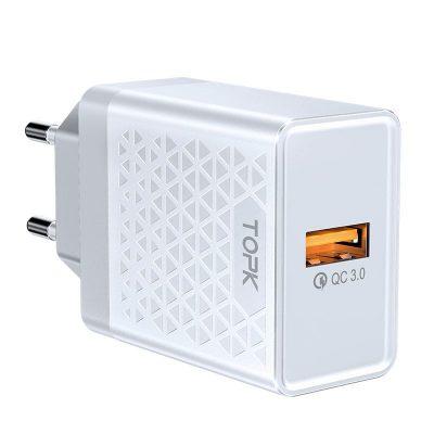 Сетевое зарядное устройство TOPK B154Q 18W