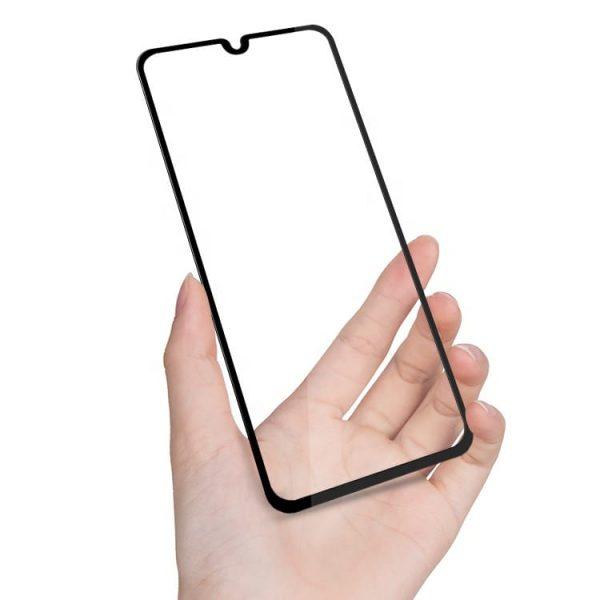 Защитное стекло для Samsung A20 Full Glue с рамкой