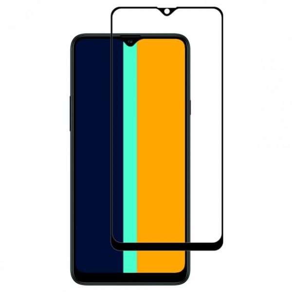 Защитное стекло для Samsung A20S Full Glue с рамкой