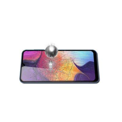 Защитное стекло для Samsung A30S Full Glue с рамкой
