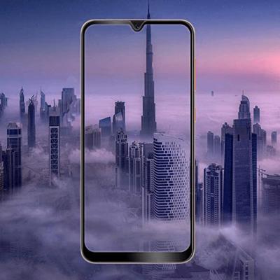 Защитное стекло для Samsung A50 Full Glue с рамкой