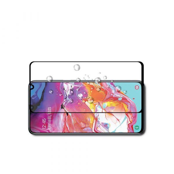Защитное стекло для Samsung M30 Full Glue с рамкой