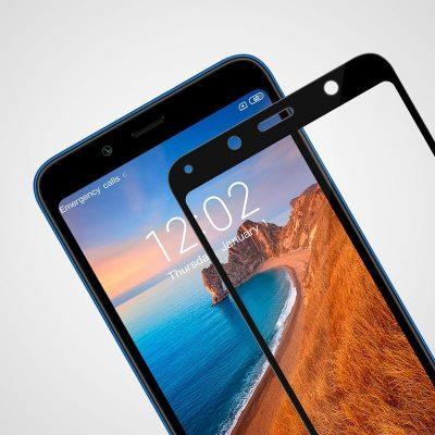 Защитное стекло для Xiaomi Redmi 7A Full Glue с рамкой