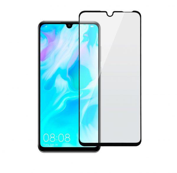 Защитное стекло для Huawei P30 Lite Full Glue с рамкой