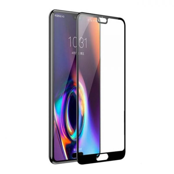 Защитное стекло для Huawei P20 Full Glue с рамкой