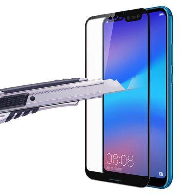 Защитное стекло для Huawei P20 Lite (2019) Full Glue с рамкой