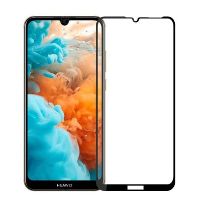 Защитное стекло для Huawei Y6 2019 Full Glue с рамкой