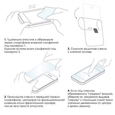 Защитные стекла TOPK - инструкция по поклейке