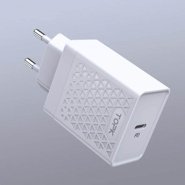 Сетевое зарядное устройство TOPK BP154 18W PD3