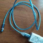 Магнитный кабель зарядки TOPK AM22 вращающийся на 540° photo review