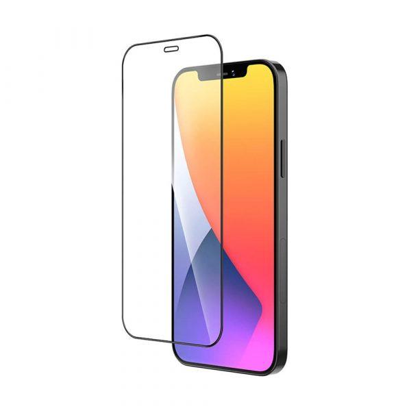 Защитное стекло для Apple iPhone 12 Pro Max Full Glue с рамкой