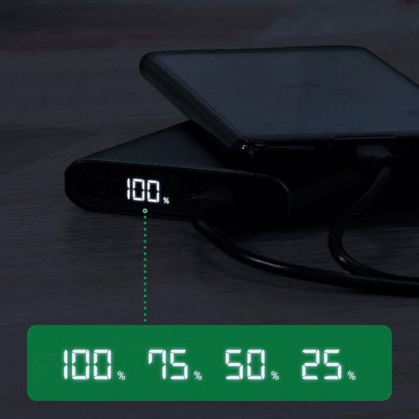 УМБ Power Bank TOPK I1006P 10000 mAh QC/PD 18W