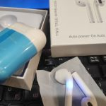 Беспроводные сенсорные наушники i12 TWS photo review