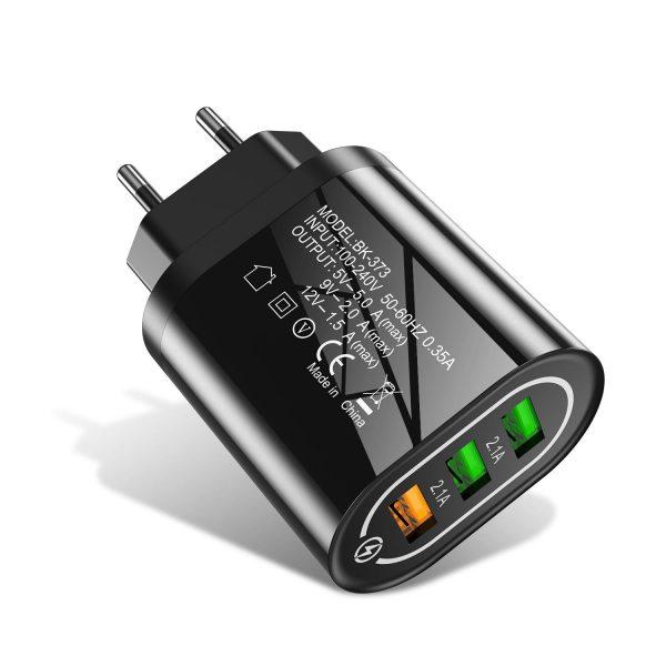 Сетевое зарядное устройство Uslion UC3734 24W 3xUSB