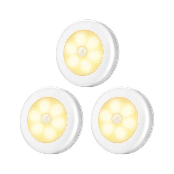 Умный LED светильник с датчиком движения