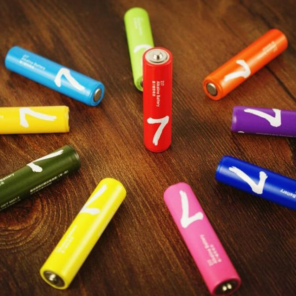 Батарейки Xiaomi ZMI Rainbow ZI7 AAA 10шт
